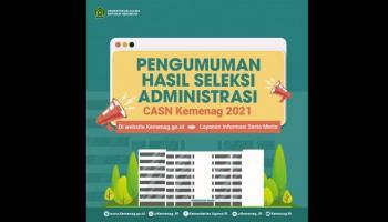 Pengumuman Hasil Seleksi CPNS IAIN SAS BABEL 105 Pelamar Memenuhi Syarat , Masa Sanggah 5 - 8 Agustus 2021