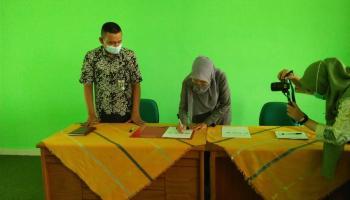 Perpustakaan IAIN SAS Bangka Belitung Jalin Kerjasama Dengan Perpustakaan Universitas Bangka Belitung