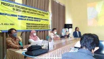 Prodi BKI IAIN SAS Bangka Belitung Melakukan Pengabdian Masyarakat di Desa Labu