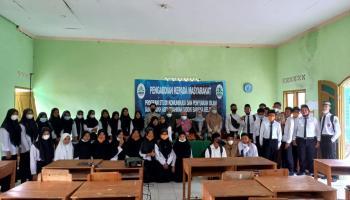Prodi KPI IAIN SAS Bersama Program Tular Nalar Mensosialisasikan Gerakan Literasi Digital  di Ponpes MA Nurul Qur'an Sidoharjo