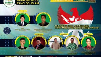 Prodi Psikologi Islam IAIN SAS Babel Gelar Webinar Nasional Moderasi Beragama