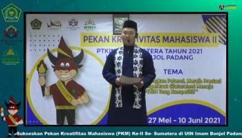 Puitisasi Al-Qur'an/Kontingen IAIN SAS Bangka Belitung Yuda Pratama