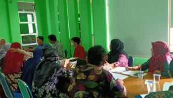 Rapat Persiapan Akreditasi Perpustakaan IAIN SAS Babel