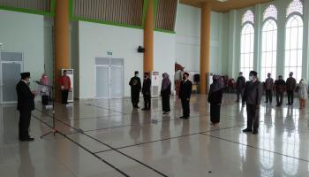 Rektor IAIN SAS Bangka Belitung Lantik 5 Pejabat Fungsional
