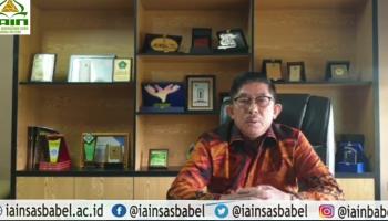 Rektor IAIN SAS Bangka Belitung Terbitkan Surat Larangan Pegawainya Berafiliasi dengan Ormas Terlarang