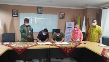 Serah Terima Sementara Gedung Serba Guna (GSG) IAIN SAS Bangka Belitung