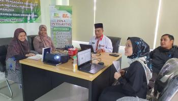 SPI IAIN SAS Bangka Belitung Susun Buku Pedoman dan SOP Layanan