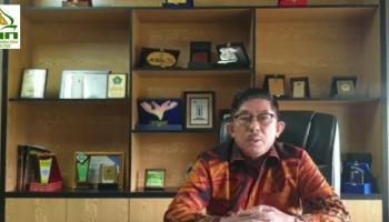 Ucapan dari Rektor IAIN SAS Babel kepada Menteri Agama RI