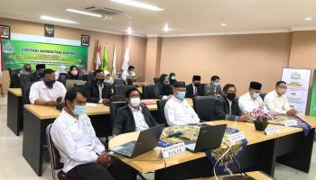 Visitasi Akreditasi Daring Prodi Hukum Keluarga Islam