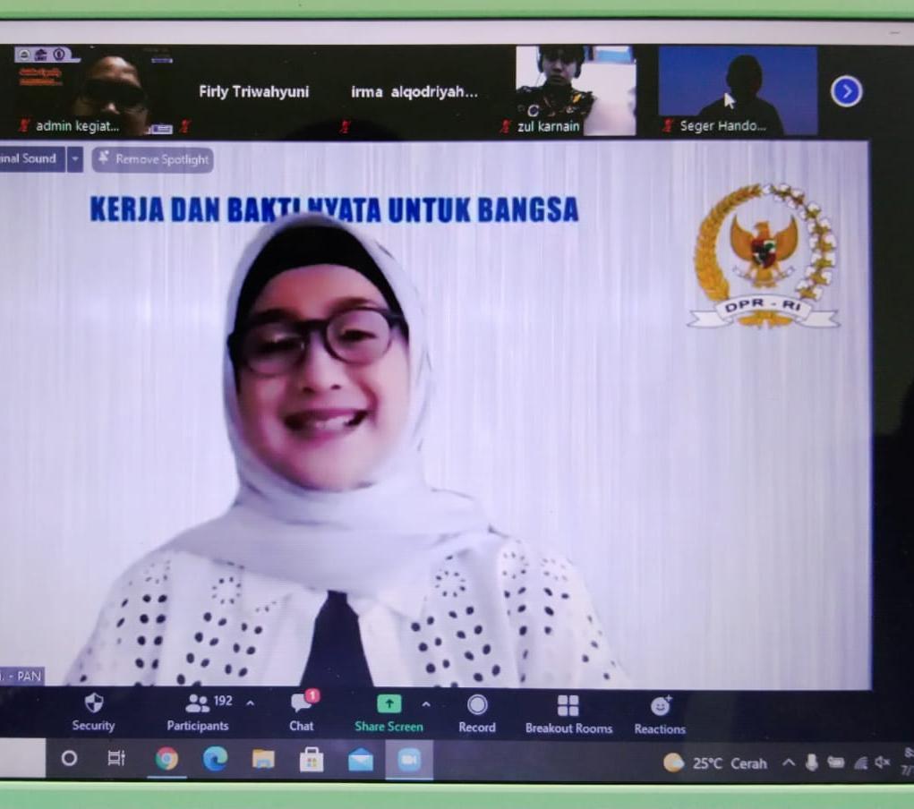 Webinar International Gender Equality in the workplace and politics from Psychological Perspective digelar Prodi Psikologi Islam IAIN SAS BABEL
